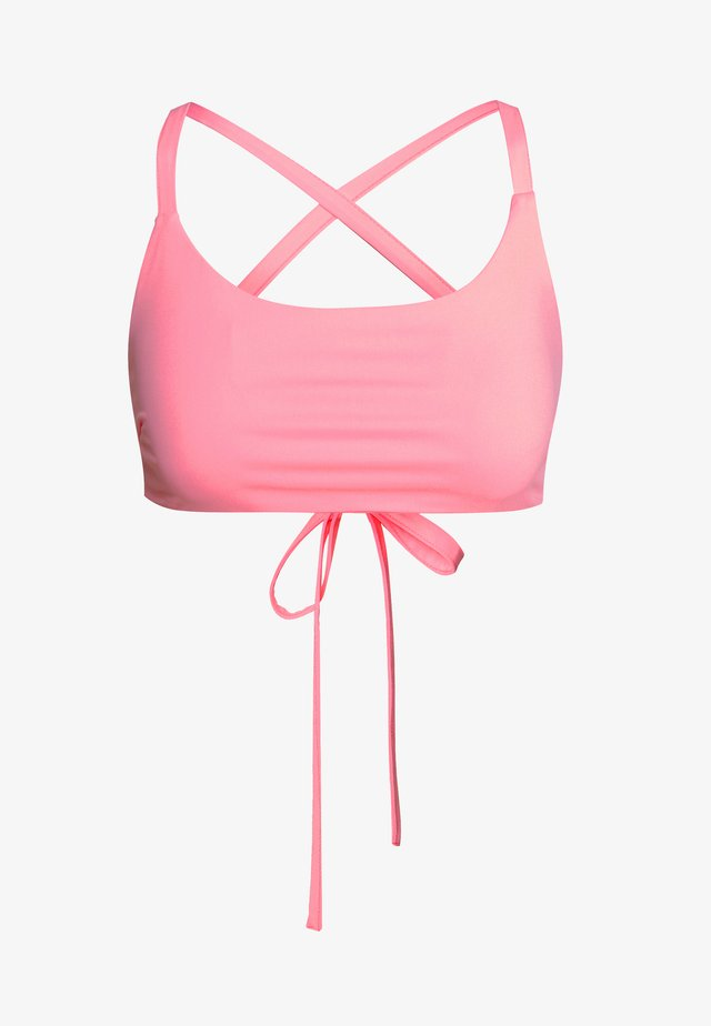 FLOSS CROP - Bikini pezzo sopra - pink