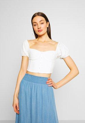 COSTA  - T-Shirt print - white