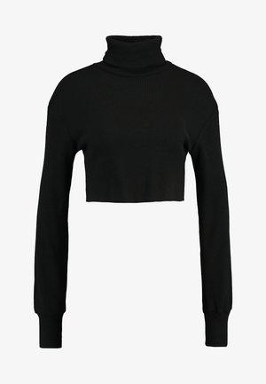 SUGAR TURTLE NECK - Trui - black