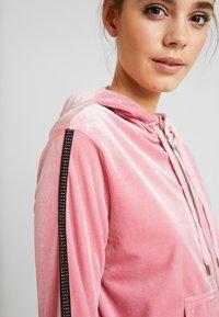 Tiger Mist - LAVINA HOODIE - Sweatjakke /Træningstrøjer - baby pink - 3