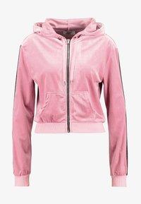 Tiger Mist - LAVINA HOODIE - Sweatjakke /Træningstrøjer - baby pink - 4