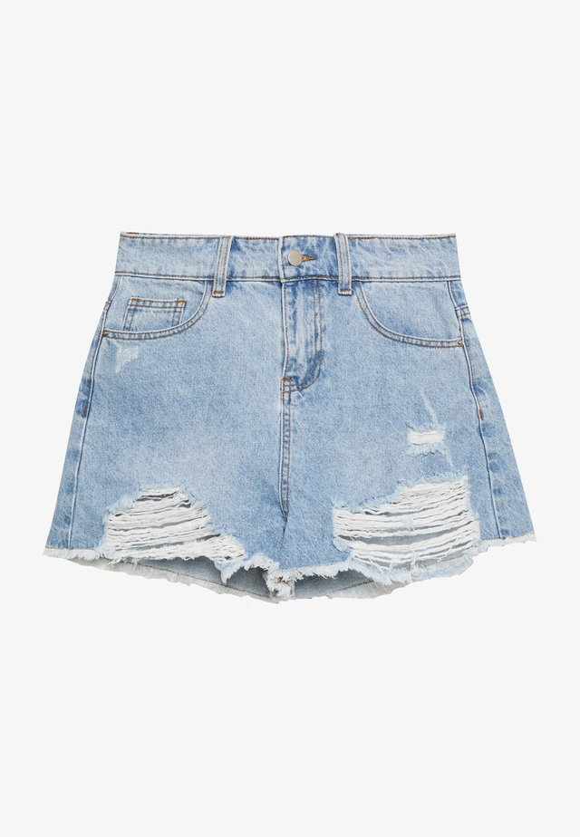 MONTANNA - Shorts di jeans - blue