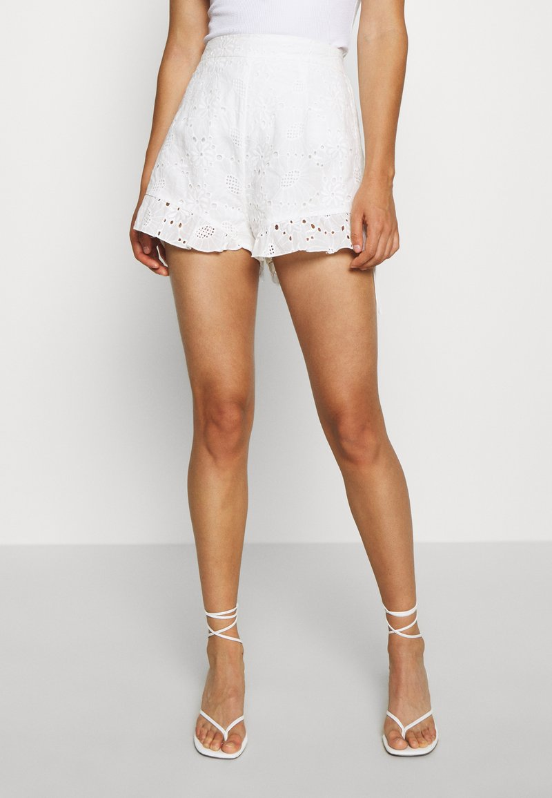 Tiger Mist - ZENNA - Shorts - white