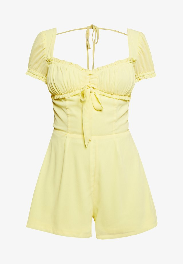BLOSSOM PLAYSUIT - Jumpsuit - yellow