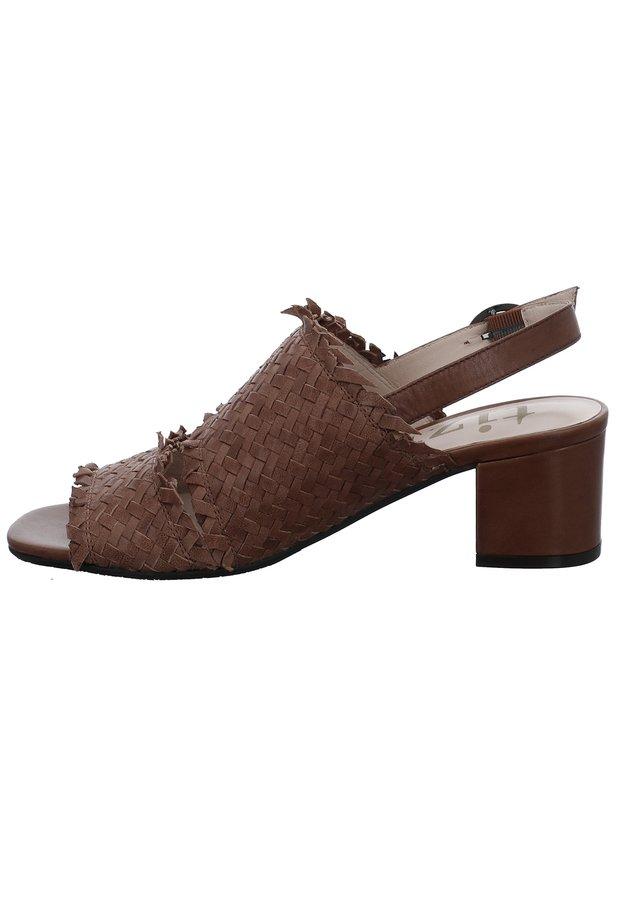 TIZIAN FALLO 02 - Classic heels - cognac