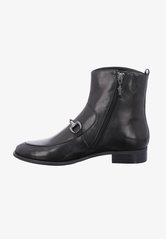 DALLAS - Cowboy/biker ankle boot - schwarz