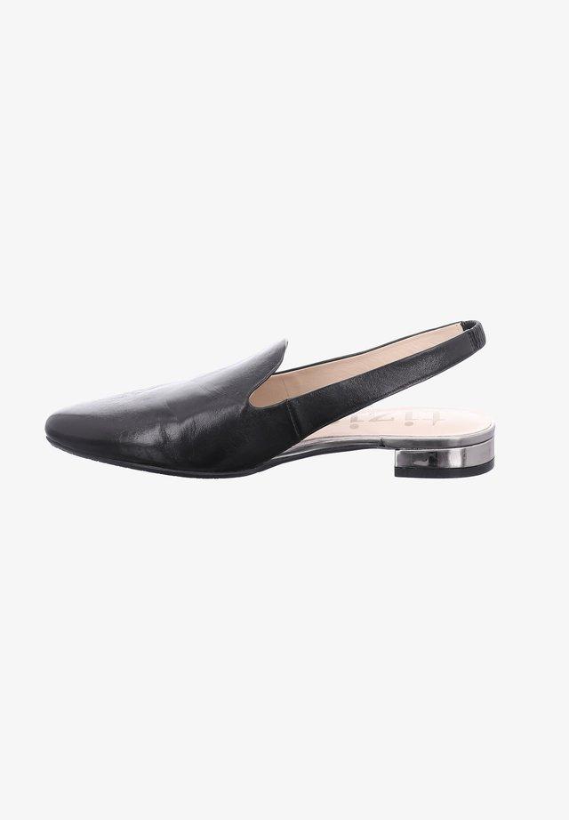 ASCOLI  - Slingback ballet pumps - schwarz