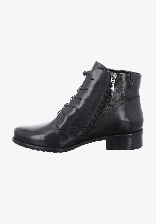 ORLANDO - Lace-up ankle boots - schwarz
