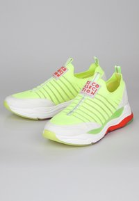 TJ Collection - RAINBOW  - Trainers - neon yellow - 3
