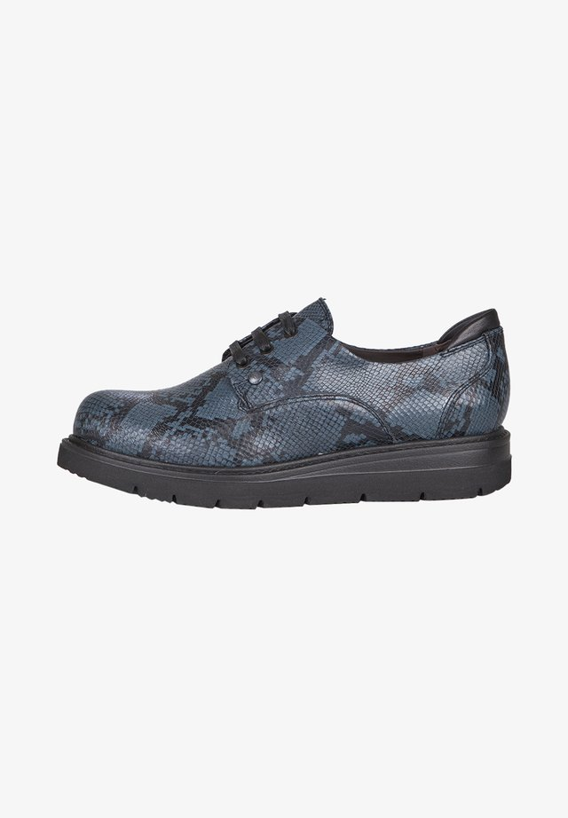 DERBIES - Casual lace-ups - dark blue