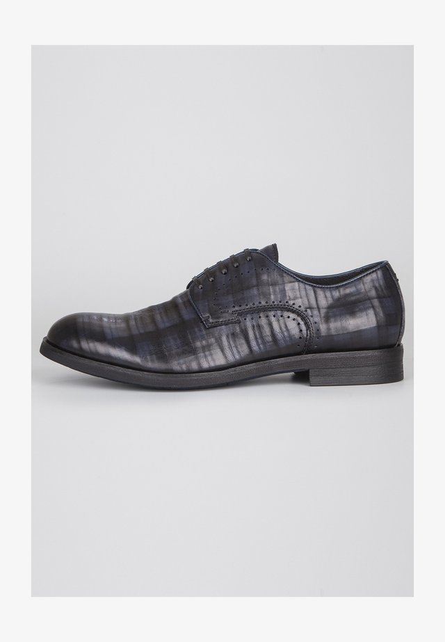 DERBIES - Smart lace-ups - dark blue