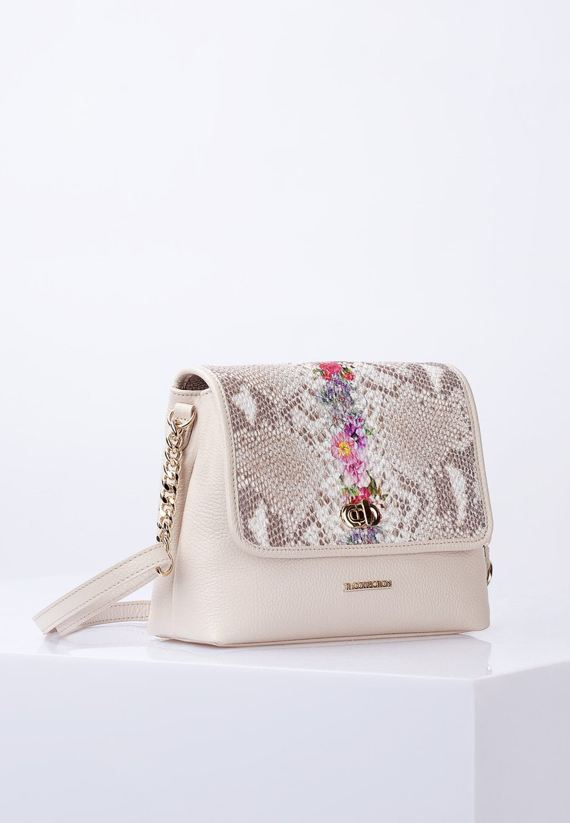 TJ Collection - Across body bag - beige