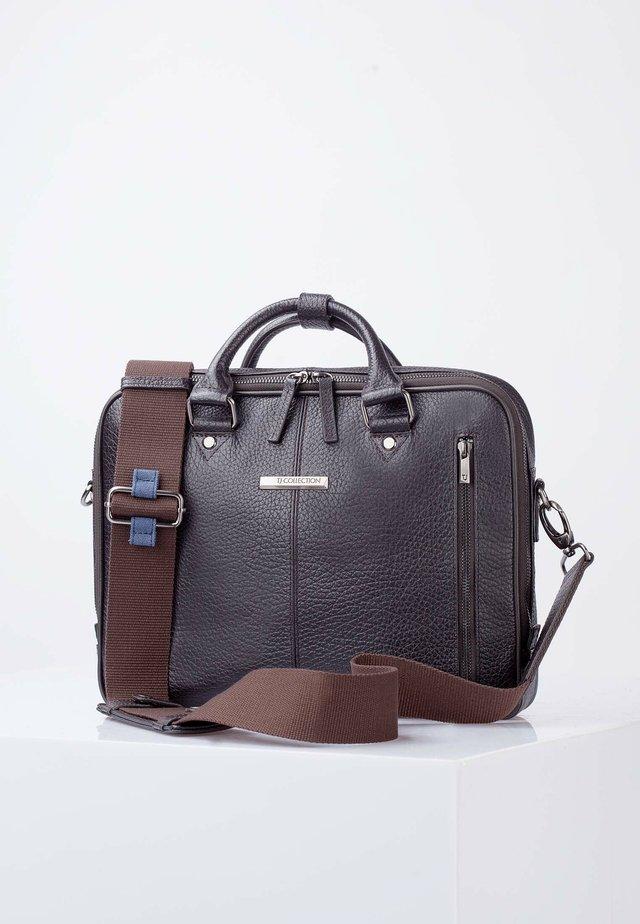 OXFORD - Briefcase - dark brown