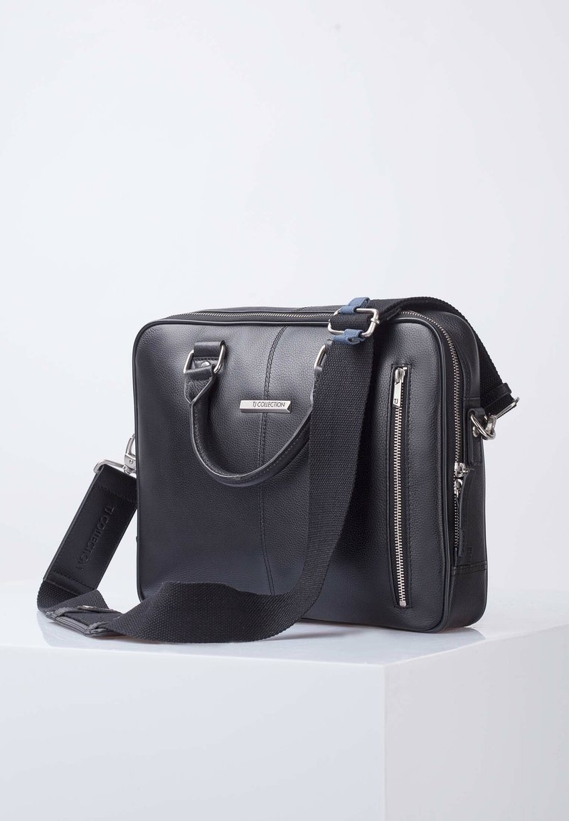 TJ Collection - OXFORD - Briefcase - black