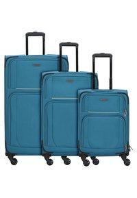 Travelite - 3  PACK - Luggage set - teal - 1