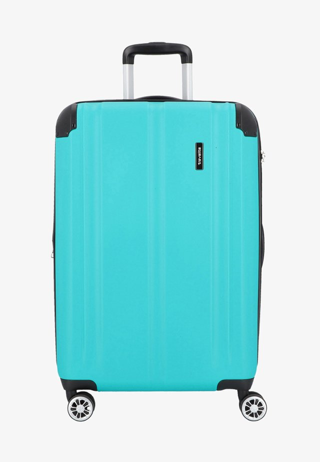 CITY 4-ROLLEN TROLLEY - Wheeled suitcase - petrol