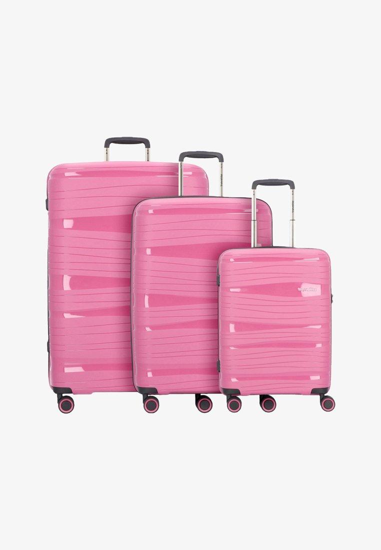 Travelite - KOFFERSET 3 TLG - Luggage set - candy