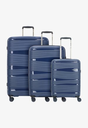 KOFFERSET 3 TLG - Luggage set - marine