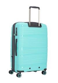 Travelite - KOFFERSET 3 TLG - Luggage set - turquoise - 1