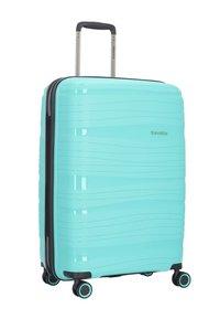 Travelite - KOFFERSET 3 TLG - Luggage set - turquoise - 2