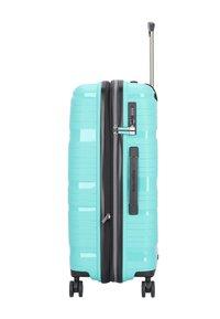 Travelite - KOFFERSET 3 TLG - Luggage set - turquoise - 3
