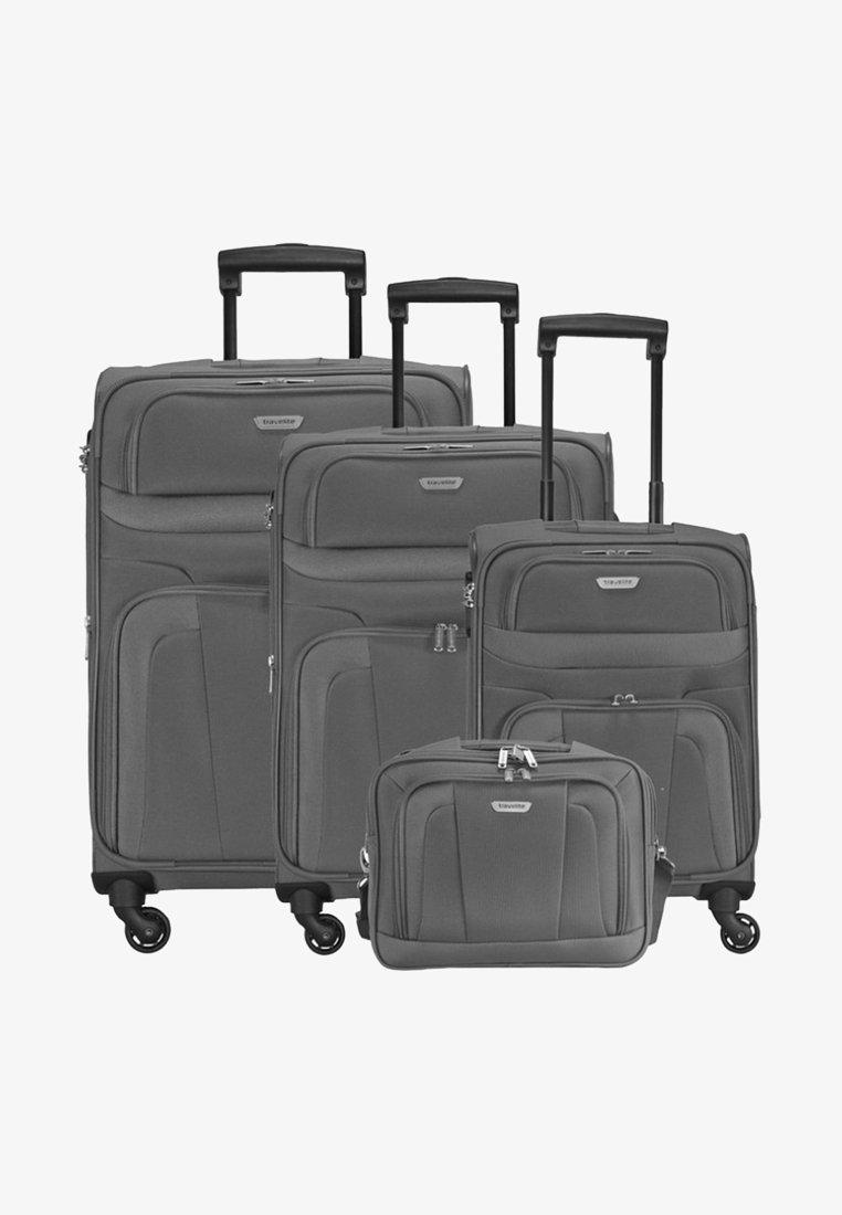 Travelite - 4-ROLLEN SET  - Luggage set - grey