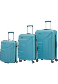 Travelite - VECTOR ROLLEN - Set de valises - türkis - 0