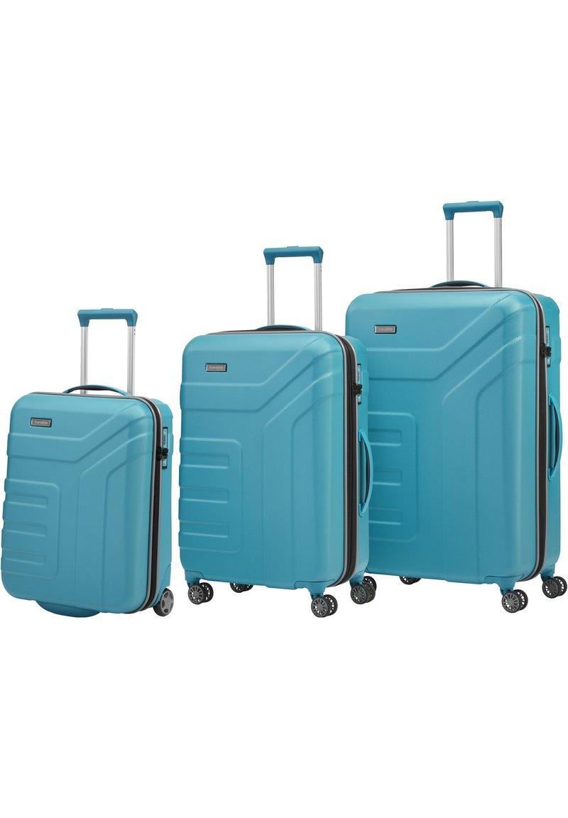 Travelite - VECTOR ROLLEN - Set de valises - türkis