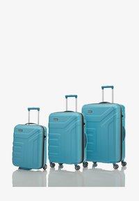 Travelite - VECTOR ROLLEN - Set de valises - türkis - 1