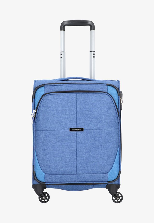 NIDA  - Wheeled suitcase - blue