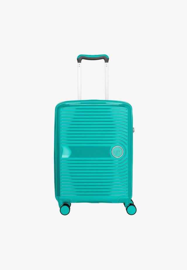 Wheeled suitcase - turquoise