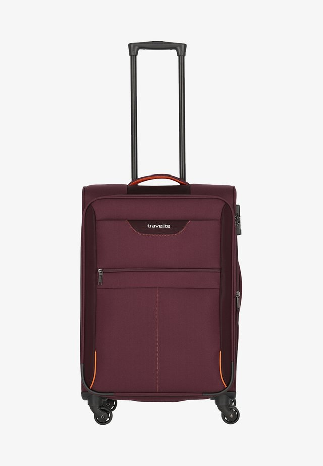 SUNNY BAY - Wheeled suitcase - purple