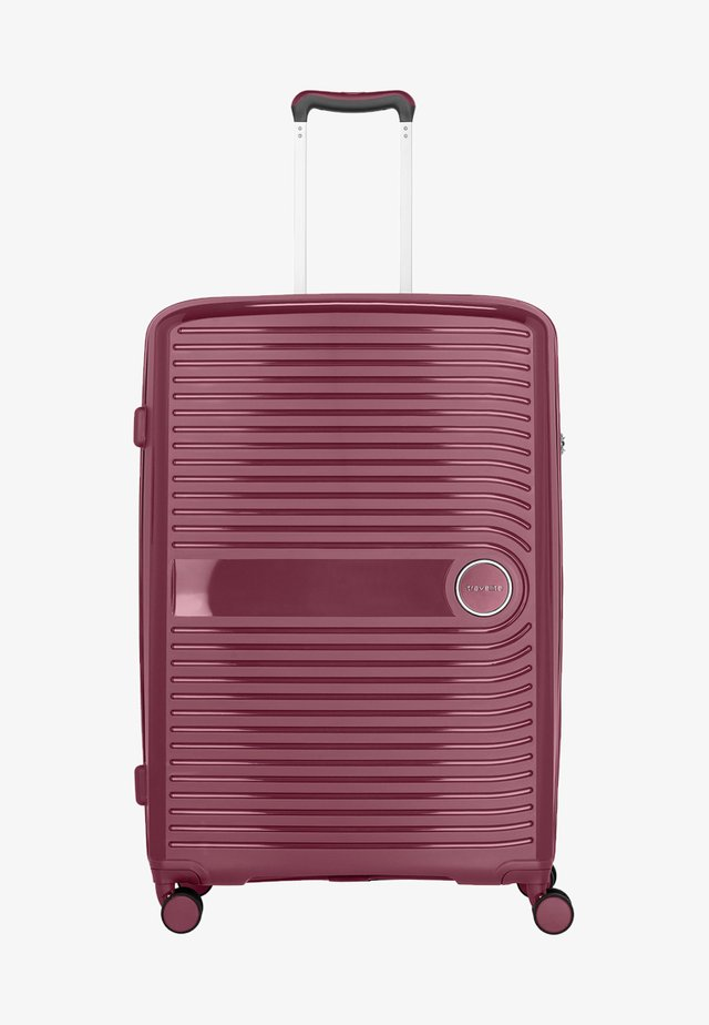 CERIS - Wheeled suitcase - red