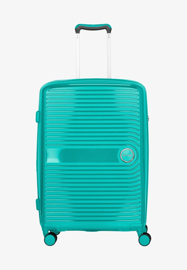 Wheeled suitcase - green