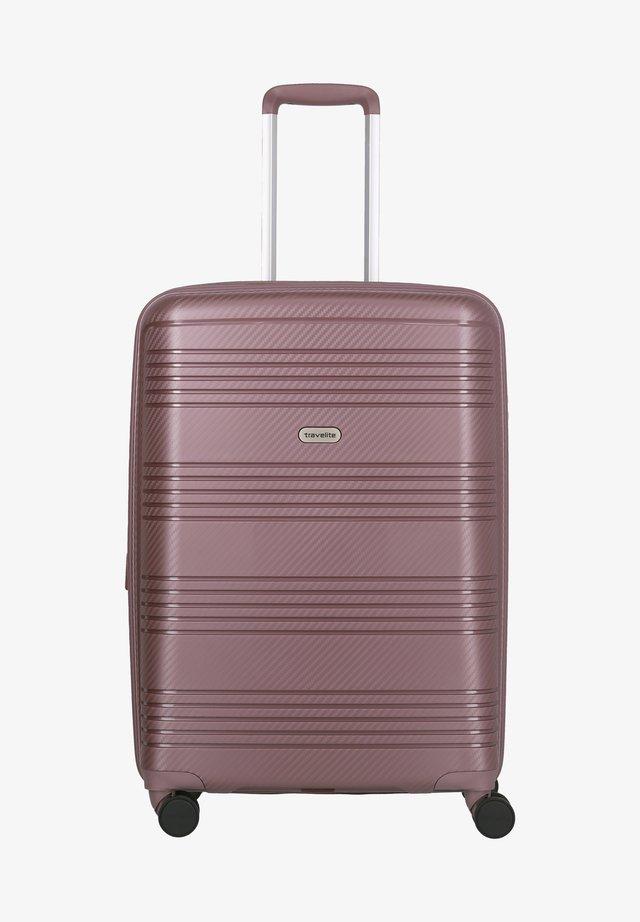 Wheeled suitcase - lilac