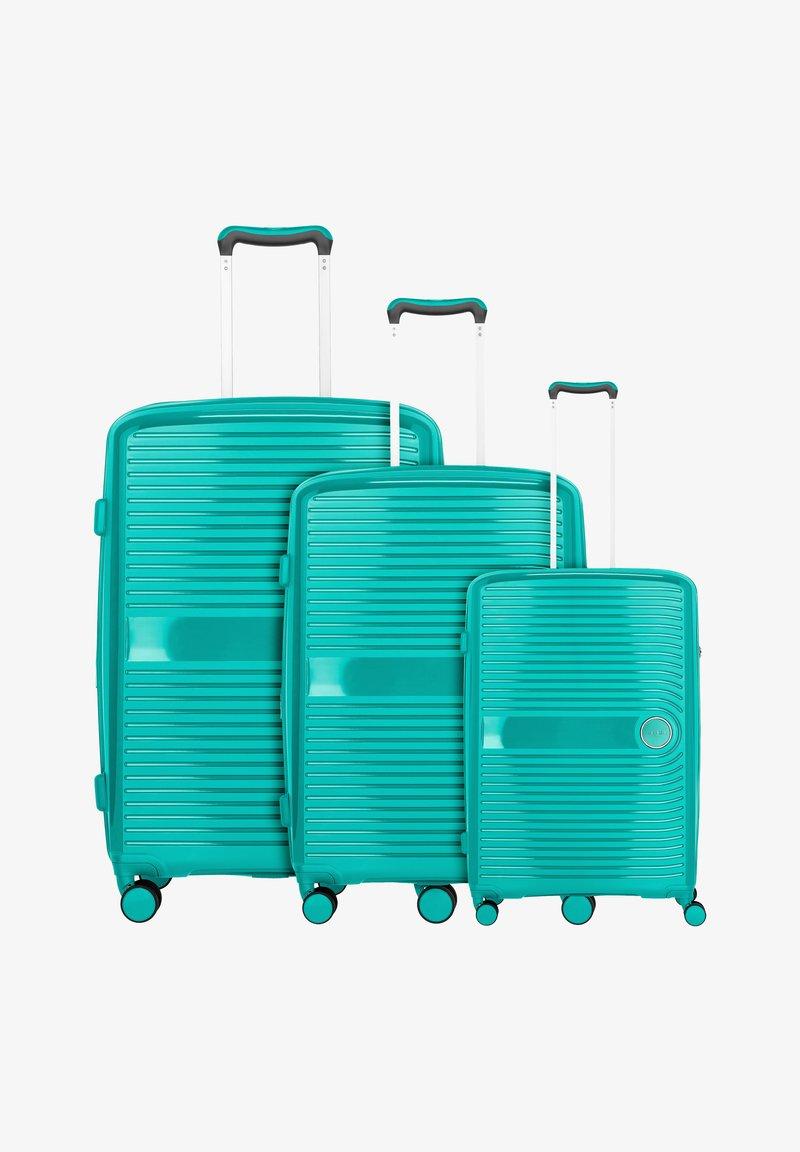 Travelite - 3TLG - Set de valises - green