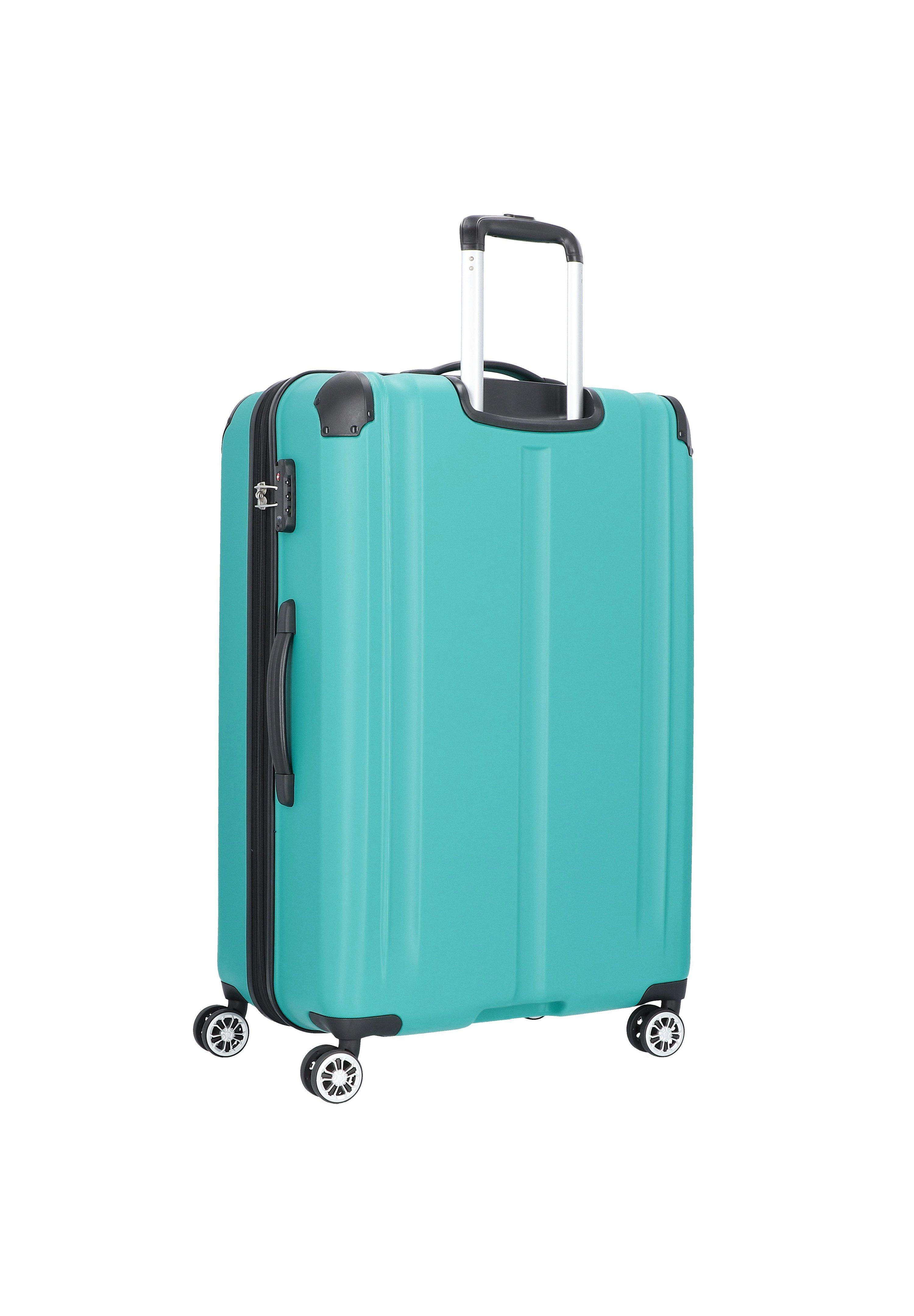 Travelite City 4-rollen Kofferset 3tlg. - Set Di Valigie Petrol sU04d8P