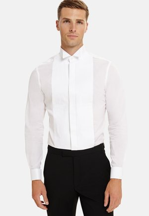 FITTED - Formal shirt - white
