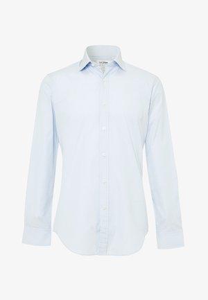 FITTED END-ON-END - Camisa elegante - blue