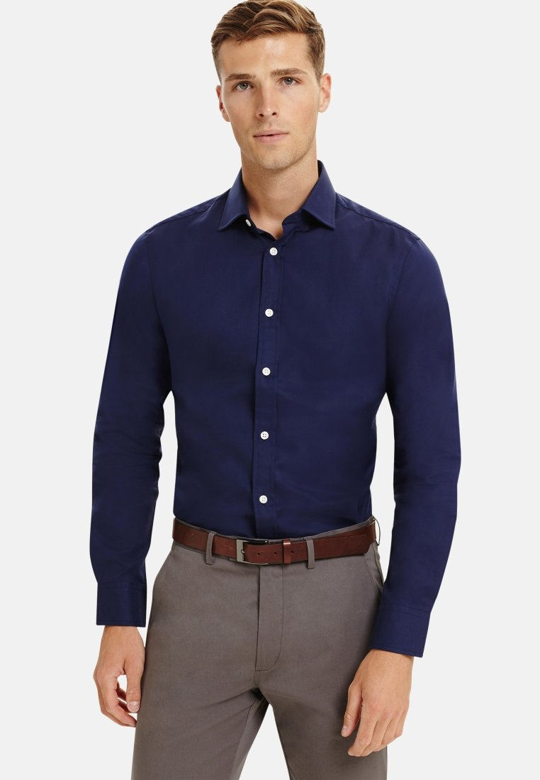 T.M.Lewin - FITTED - Formal shirt - navy
