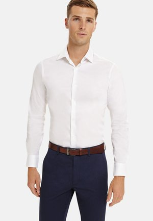 SUPER FITTED STRETCH - Formal shirt - white
