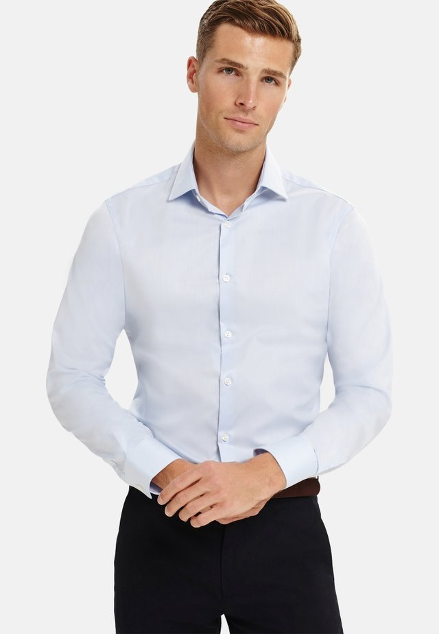 FITTED - Formal shirt - blue