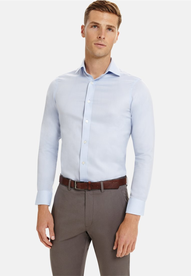 T.M.Lewin - FITTED TWILL  - Businesshemd - blue