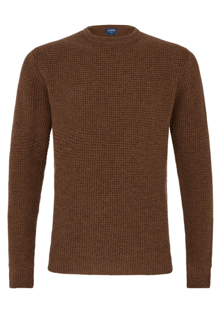 T.m.lewin Chunky Stornoway - Pullover Rust
