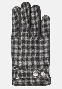 T.M.Lewin - HOUNDSTOOTH BARBERIS  - Gloves - grey/charcoal - 1