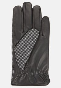 T.M.Lewin - HOUNDSTOOTH BARBERIS  - Gloves - grey/charcoal - 2
