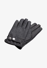 T.M.Lewin - HOUNDSTOOTH BARBERIS  - Gloves - grey/charcoal - 0