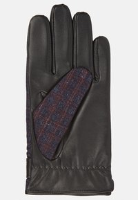T.M.Lewin - HOUNDSTOOTH BARBERIS - Gloves - burgundy - 2