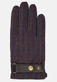 T.M.Lewin - HOUNDSTOOTH BARBERIS - Gloves - burgundy - 1