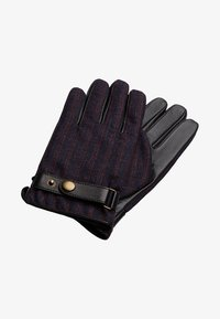 T.M.Lewin - HOUNDSTOOTH BARBERIS - Gloves - burgundy - 0